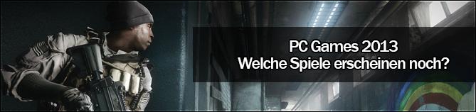 Release-Termine 2013 PC Games