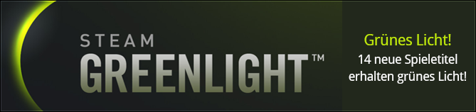 Greenlight - 14 neue Titel